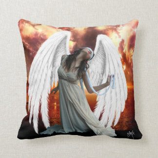 Ángel de la almohada de la angustia