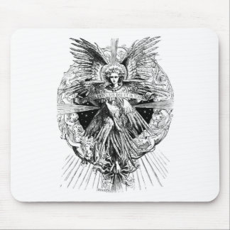 Ángel de la canción de Belén 1901 Alfombrillas De Ratón
