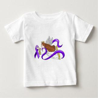 """Ángel de la """"cinta púrpura"""" de la conciencia camisas"""
