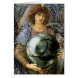 Ángel de la creación de Guillermo Burne-Jones Felicitacion