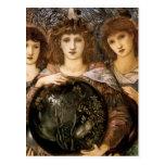 Ángel de la creación de Guillermo Burne-Jones Tarjeta Postal
