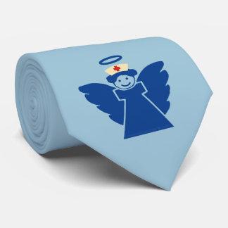 Ángel de la enfermera corbata