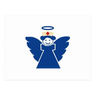 Ángel de la enfermera postal