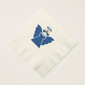 Ángel de la enfermera servilleta de papel