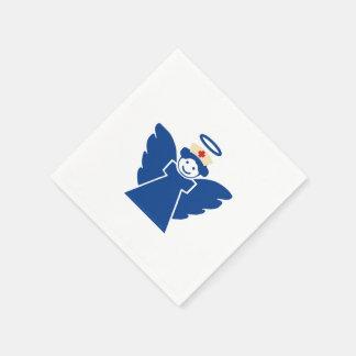 Ángel de la enfermera servilletas de papel