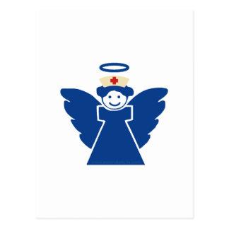 Ángel de la enfermera tarjetas postales