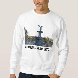 Ángel de la fuente del Central Park NYC Bethesda Sudadera Con Capucha