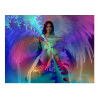 Ángel de la gloria postales
