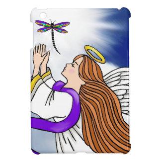 Ángel de la libélula iPad mini protectores