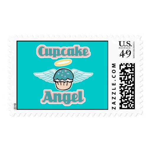 ángel de la magdalena sello postal