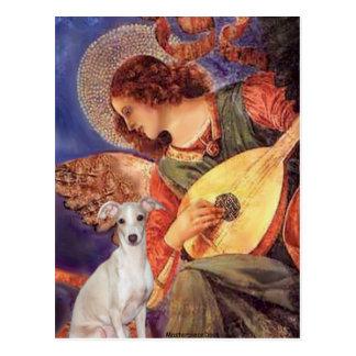 Ángel de la mandolina - - galgo italiano 7 postales