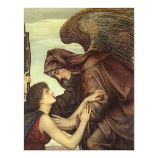 Ángel de la muerte (detalle) por Evelyn De Morgan Comunicado Personal