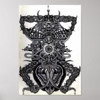 Ángel de la muerte poster