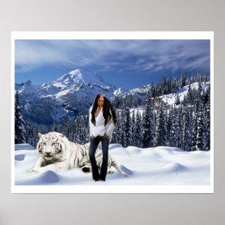 Ángel de la nieve posters