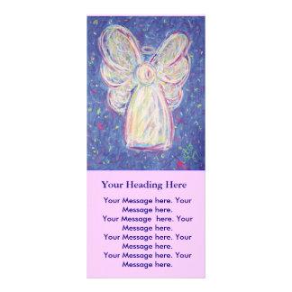 Ángel de la noche estrellada - tarjeta del estante tarjeta publicitaria a todo color