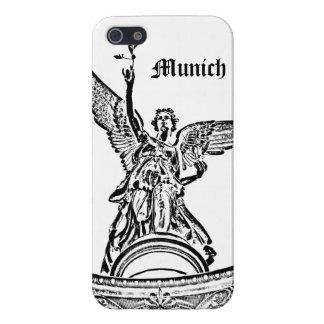 Ángel de la paz en Munich iPhone 5 Carcasas