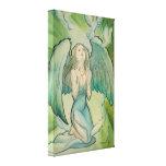 Ángel de la paz lona envuelta para galerías