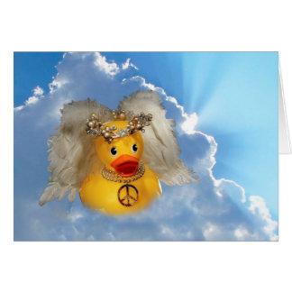 Ángel de la paz tarjetón