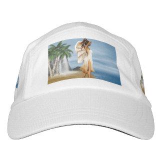 Ángel de la playa gorras de alto rendimiento