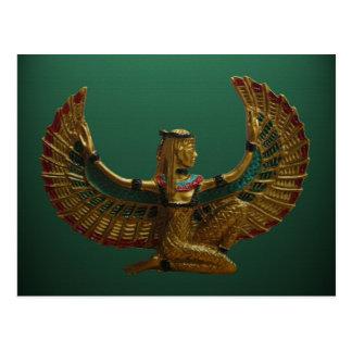Ángel de la postal de Egipto