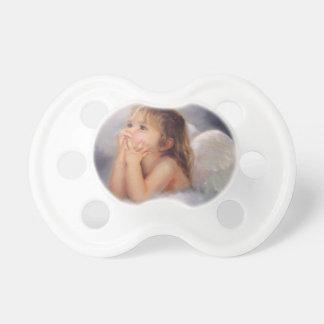 Ángel de la querube chupetes para bebés