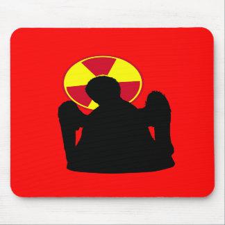 Ángel de la radiación de la muerte alfombrillas de raton