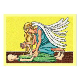 Ángel de la resurrección plantilla de tarjeta de negocio