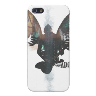 Ángel de la roca iPhone 5 carcasa
