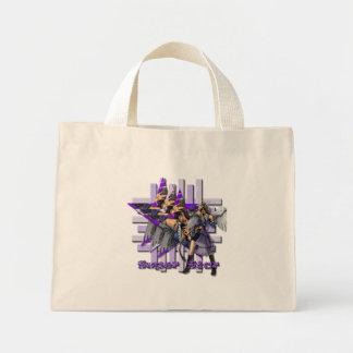 Ángel de la superestrella - tote minúsculo bolsa de mano