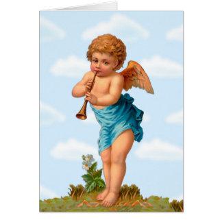Ángel de la tarjeta del día de San Valentín