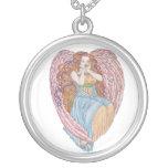 Ángel de la tarjeta del día de San Valentín Colgantes
