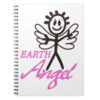 Ángel de la tierra cuaderno