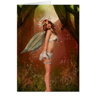 Ángel de la tierra tarjeta de felicitación