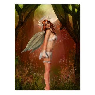 Ángel de la tierra postal