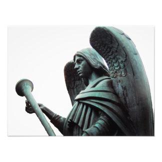Ángel de la trompeta de la foto de la profecía de