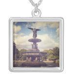 Ángel de las aguas, fuente de Bethesda, PA central Joyerias Personalizadas