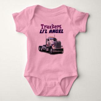 Ángel de Li'l de los camioneros Body Para Bebé