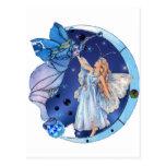 Ángel de los cielos tarjetas postales