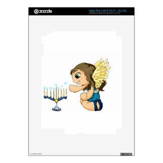 Ángel de Menorah Pegatinas Skins Para iPad 3