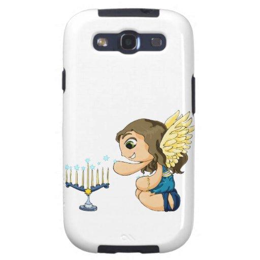 Ángel de Menorah Samsung Galaxy S3 Carcasas