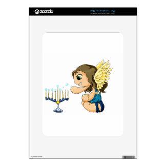 Ángel de Menorah Skins Para iPad