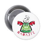 Ángel de Namaste del día de fiesta Pin