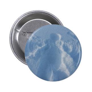 ángel de nevoso pin redondo 5 cm