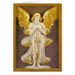 Ángel de oro felicitacion