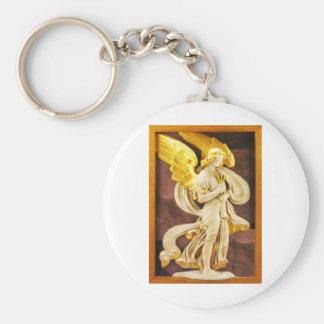 Ángel de oro llavero
