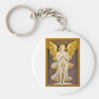 Ángel de oro llaveros