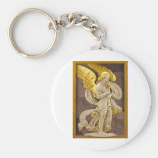 Ángel de oro llaveros personalizados