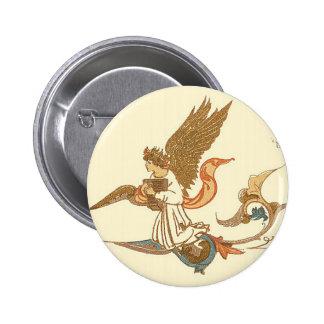 Ángel de oro pin