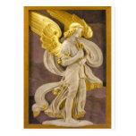 Ángel de oro postales