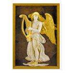 Ángel de oro tarjetas postales